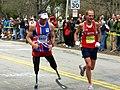 Richard Whitehead, Boston marathon 2009.jpg