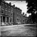 Richmond, Va. Franklin Street, including the residence of Gen. Robert E. Lee (second from left) LOC cwpb.02765.tif