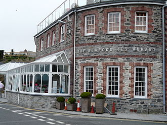Cornish cuisine - Rick Stein's Seafood Restaurant, Padstow.
