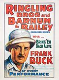 Ringling Bros. and Barnum & Bailey Circus 1938 poster