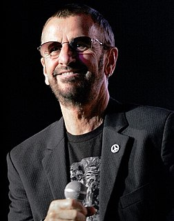Ringo Starr British musician, drummer of the Beatles
