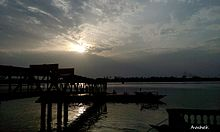 Rishra Ferry Ghat picture takem from mobile