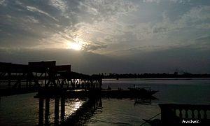 Rishra - Rishra Ferry Ghat Early Morning View