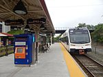 River Line train at Pennsauken Transit Center, May 2015.jpg