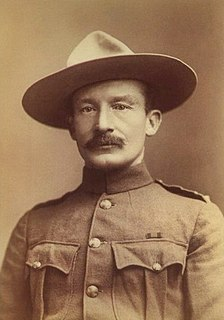 Robert Baden-Powell, 1st Baron Baden-Powell British Army officer, founder of the world-wide Scout Movement