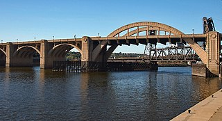 Robert Street Bridge bridge in Saint Paul, Minnesota