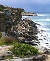 Rocks near Coogee (3610950399).jpg
