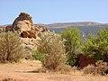 Rocks with Fremont petrogyphs - panoramio - Frans-Banja Mulder (1).jpg