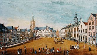 Roermond - French troops in Roermond, 1793