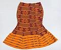 Rok van Afrikaanse kente stof- Stichting Nationaal Museum van Wereldculturen - R-3633d.jpg