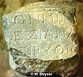 Roman Inscription in Rhodos, Arch. Mus., Greece (EDH - F001527).jpeg