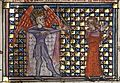 Roman de la Rose f. 13r (The god of love shoots an arrow at the lover).jpg