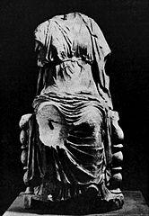 Siedząca kobieta z Królikarni