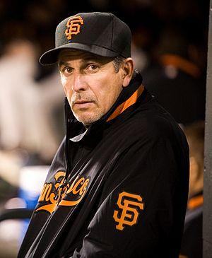 Ron Wotus - Wotus with the San Francisco Giants