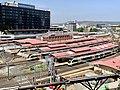 Roofs of the Roma Street railway station, Brisbane, Queensland.jpg