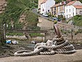Rope coil, Staithes harbour - geograph.org.uk - 849530.jpg