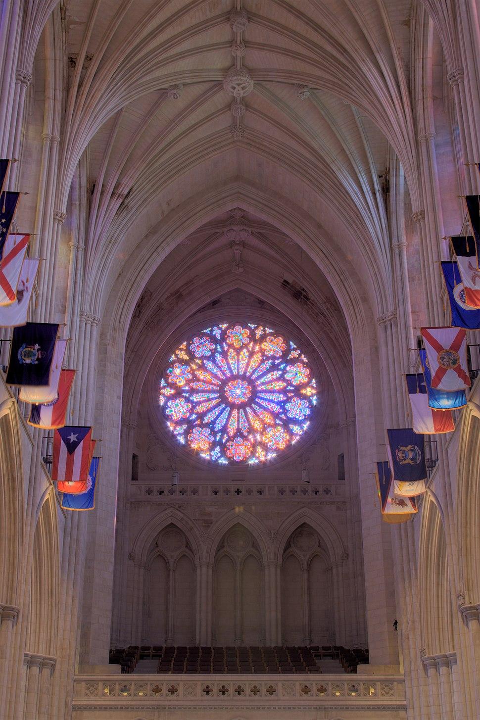 Rose Window Washington National Cathedral