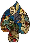 Rose window of Sainte-Chapelle (Paris) - Harvest of the World.jpg
