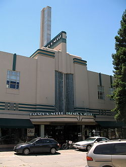 Historic Rosenberg's Dept. Store Building, Downtown Santa Rosa