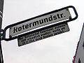 Rotermundstraße Hannover Legendenschild Vollmeierhof 1689 erstmals urkundlich erwähnt, wurde am 29. November 1944 durch Bomben zerstört.jpg