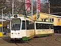 Rotterdam tram RET 736 pic2 Type ZGT-6 made by Düwag Düsseldorf.JPG