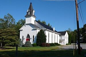 Round Hill, Loudoun County, Virginia - Round Hill United Methodist Church, established 1889 in Round Hill, Virginia.