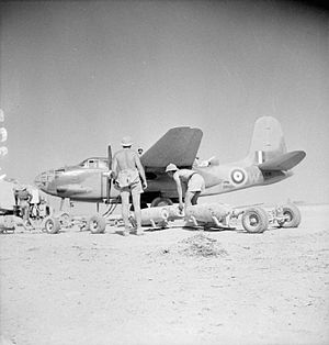 12 Squadron SAAF - Image: Royal Air Force Operations in the Middle East and North Africa, 1939 1943 CM2907