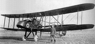 "Royal Aircraft Factory F.E.2 - F.E.2b with ""V"" undercarriage"