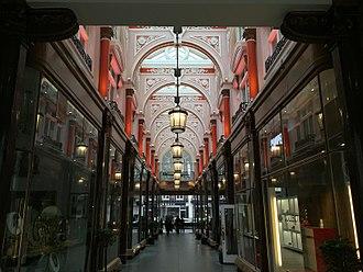 Royal Arcade, London - Interior