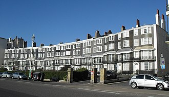 Buildings and architecture of Brighton and Hove - Royal Crescent was the first of many 19th-century crescents.