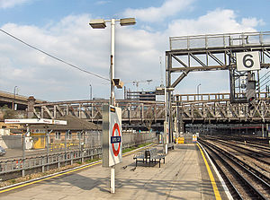 Royal Oak tube station - Image: Royal Oak Tube Platform