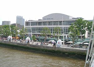 Eurovision Song Contest 1960 - Royal Festival Hall, London - host venue of the 1960 contest.