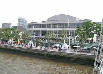 London Philharmonic Orchestra - The Royal Festival Hall, London, the main base of the orchestra