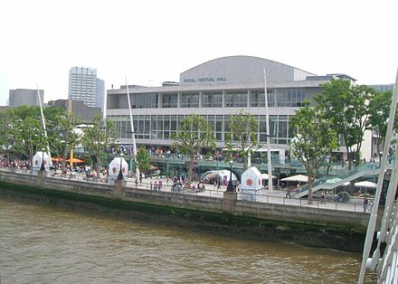 The Royal Festival Hall where Journey was recorded. Royalfestivalhall.jpg