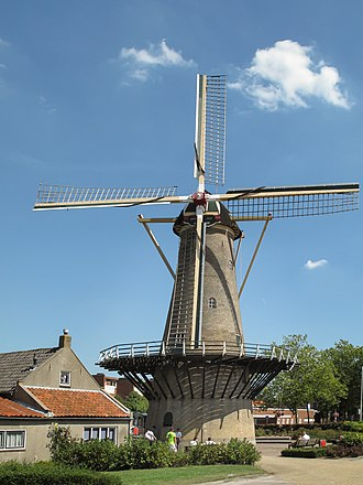 Rozenburg - Windmill de Hoop