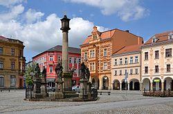 Rumburk (Rumburg) - Lužické náměstí.jpg