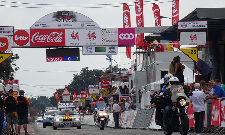 Rumillies (Tournai) - Tour de Wallonie, étape 1, 26 juillet 2014, arrivée (A18).JPG