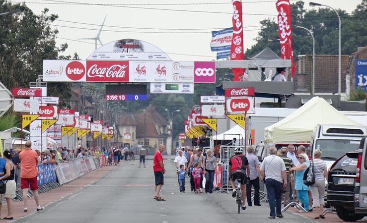 Rumillies (Tournai) - Tour de Wallonie, étape 1, 26 juillet 2014, arrivée (A28).JPG
