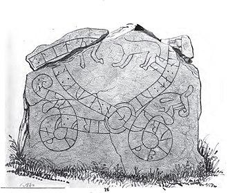 Södermanland Runic Inscription 235 - Image: Sö 235, Västerby