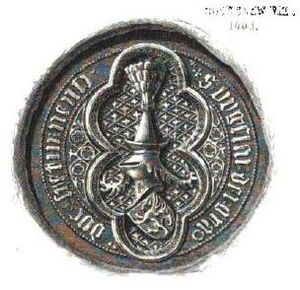 Bogislaw VIII, Duke of Pomerania - Seal of Bogislaw VIII (1403)