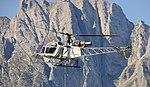 SA315B Lama I-SOCO, Al lavoro sulla Alpi.jpg