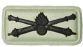 SANDF Arty General of the Gunners badge embossed.png