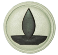 SANDF Qualification Chaplain Hindu badge embossed.png