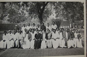 S. Alagarsamy - S. Alagarsamy with the Prime Minister Smt Indira Gandhi with the TN Govt Committee