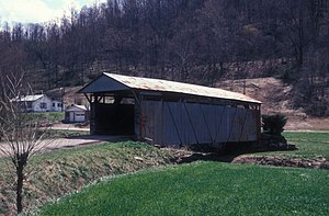 Windsor Township, Lawrence County, Ohio - The Scottown Covered Bridge