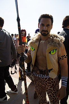 SDCC - Kraven the Hunter Cosplay (35308456084).jpg