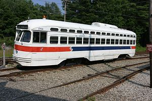 SEPTA 2709 at Seashore Trolley Museum, July 2005.jpg