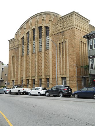 San Francisco Polytechnic High School - Former boys' gymnasium