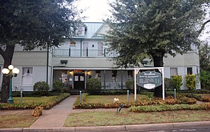 National Register of Historic Places listings in Madison County, Texas - Image: SHAPIRA HOTEL, MADISONVILLE, MADISON COUNTY, TX