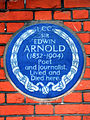 SIR EDWIN ARNOLD 1832-1904 Poet and Journalist Lived and Died here.jpg